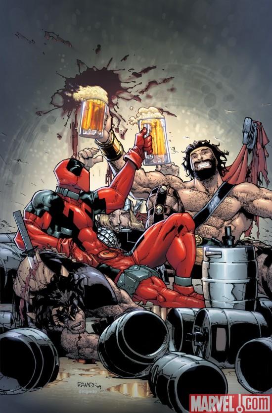 DeadpoolTeamup_899 Deadpool Team Up #899 Revealed