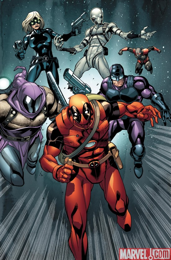 Deadpool_08_SecondPrintingVariant Deadpool Battles The Thunderbolts To a New Printing