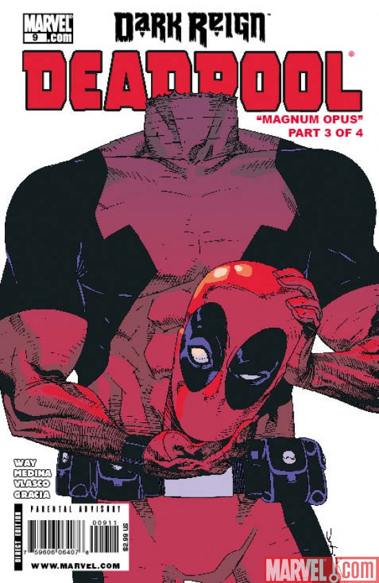 Deadpool_09_Cover Deadpool Battles The Thunderbolts To a New Printing
