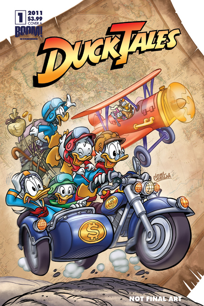 DuckTales_01_CVR_A The Disney Afternoon Revolution continues with DUCKTALES