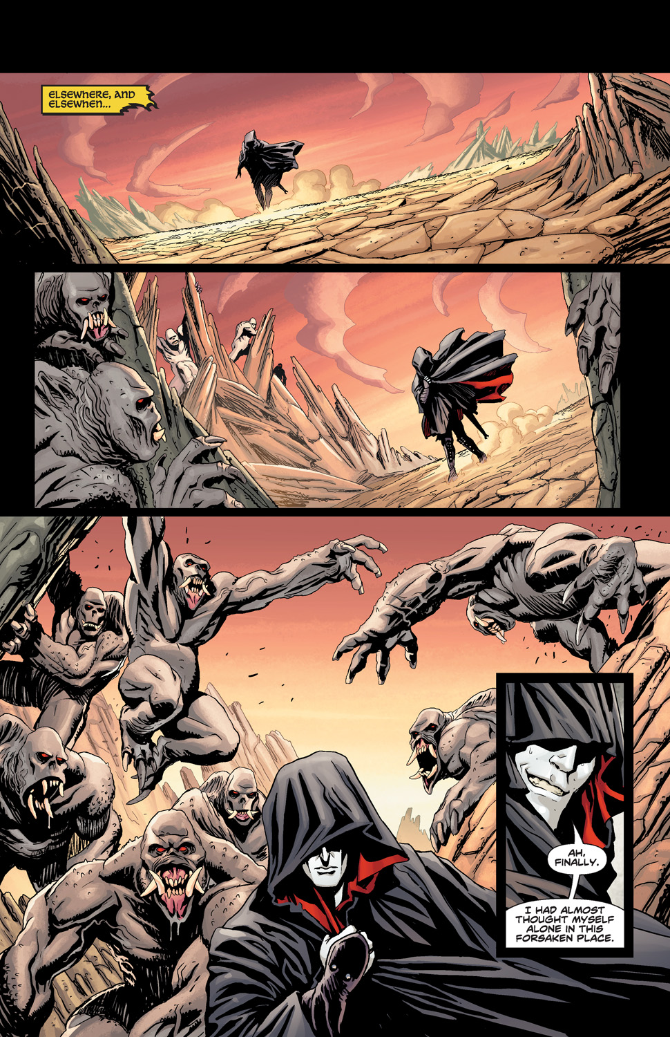 ELRIC_THE_BALANCE_LOST_FCBD_Preview_Page_1 Michael Moorcock's ELRIC: THE BALANCE LOST comes to life this May