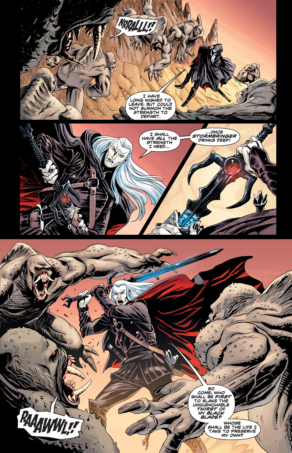 ELRIC_THE_BALANCE_LOST_FCBD_Preview_Page_2 Michael Moorcock's ELRIC: THE BALANCE LOST comes to life this May
