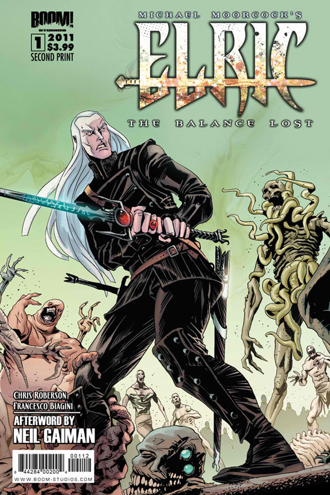 Elric_TBL_01_CVR_2ndPrint ELRIC: THE BALANCE LOST #1 goes to second print