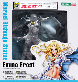 Emma_Frost_in_box_250_wide PREVIEWS Announces 2011 Exclusives for SDCC 2011