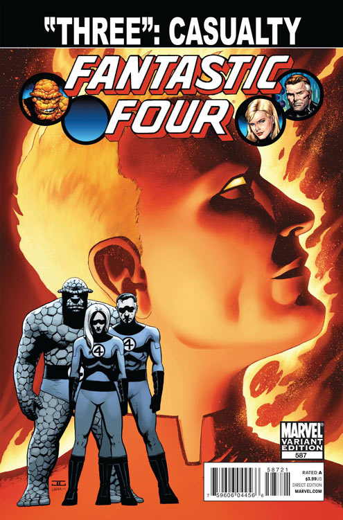 FF587_CassadayVariant SPOILER ALERT: Marvel reveals who dies in FANTASTIC FOUR #587