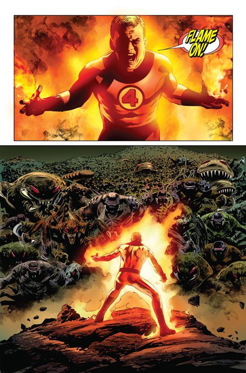 FF587_Preview1 SPOILER ALERT: Marvel reveals who dies in FANTASTIC FOUR #587