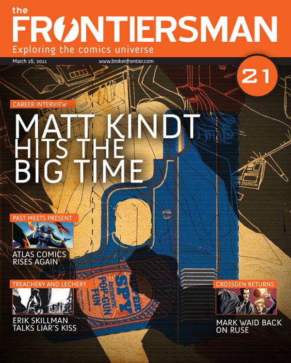FM21cvr THE FRONTIERSMAN #21: Matt Kindt Hits The Big Time