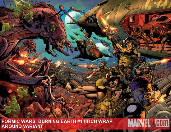 FORMICWAR_1_HITCHVAR Marvel and ComicsPRO announce early launch Of FORMIC WARS: BURNING EARTH