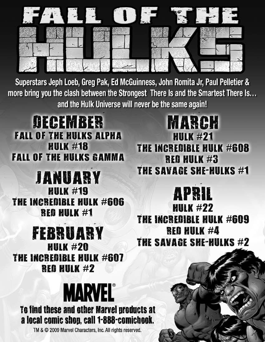 FallOfTheHulksChecklist Whilce Portacio returns to Marvel to begin The Fall Of The Hulks