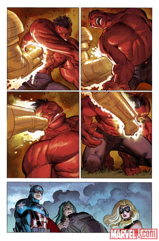 FallOfTheHulksGamma_Preview2 Fall Of The Hulks will make you see Red and Green