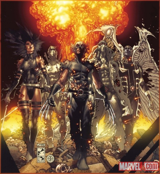 Fear_Itself_UncannyXForce_1_Cover Marvel announces Williams and Bianchi on FEAR ITSELF: UNCANNY X-FORCE