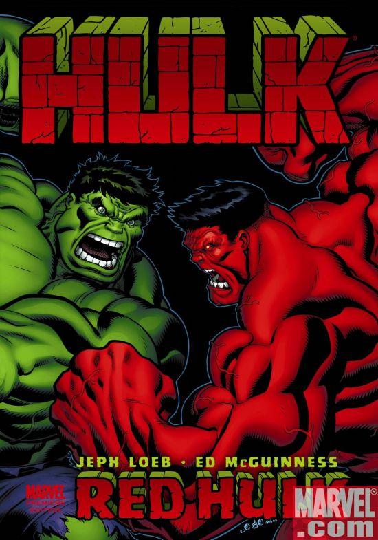HULKVOL1HC Hulk and Superstar Jeph Loeb Continue To Smash And Sell-Out