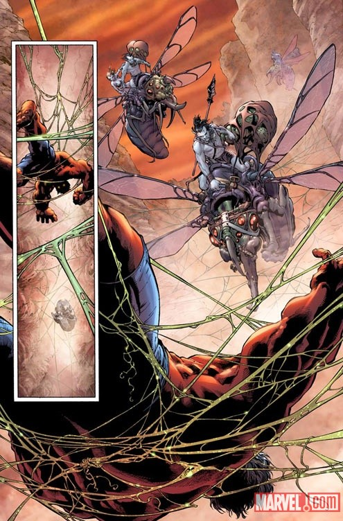 HULK_34_PREVIEW3 First Look at PLANET RED HULK