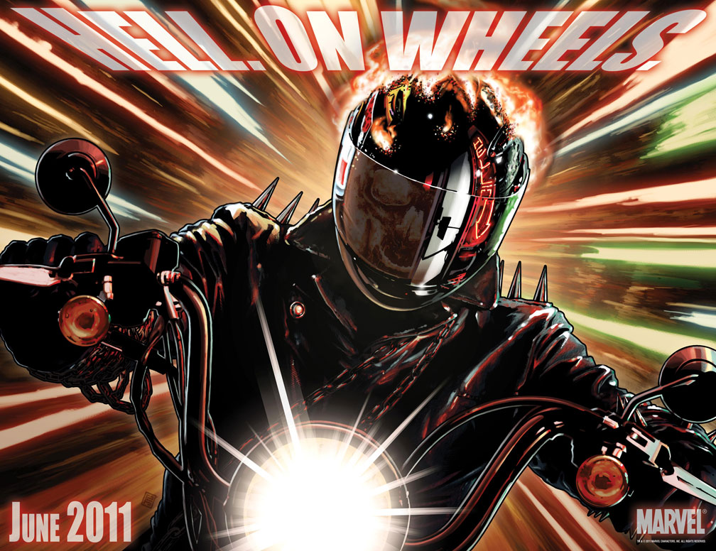 HellOnWheels Could FEAR ITSELF unleash a Ghost Rider?