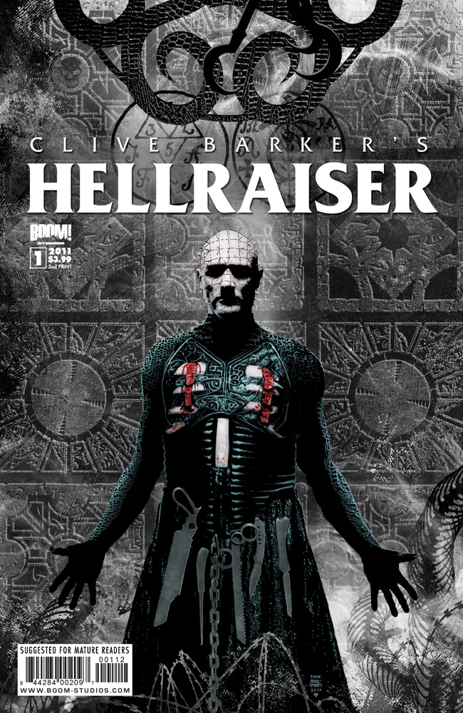 Hellraiser_01_2ndPrint_CVR HELLRAISER #1 sells out in only 3 days, gets 2nd printing