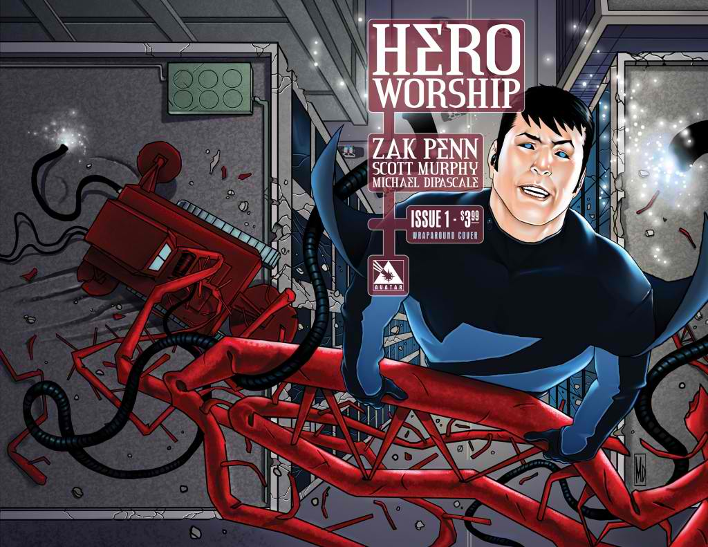 HeroWorship1Wrap-1024x791 Zak Penn launches first comics series HERO WORSHIP July 2012
