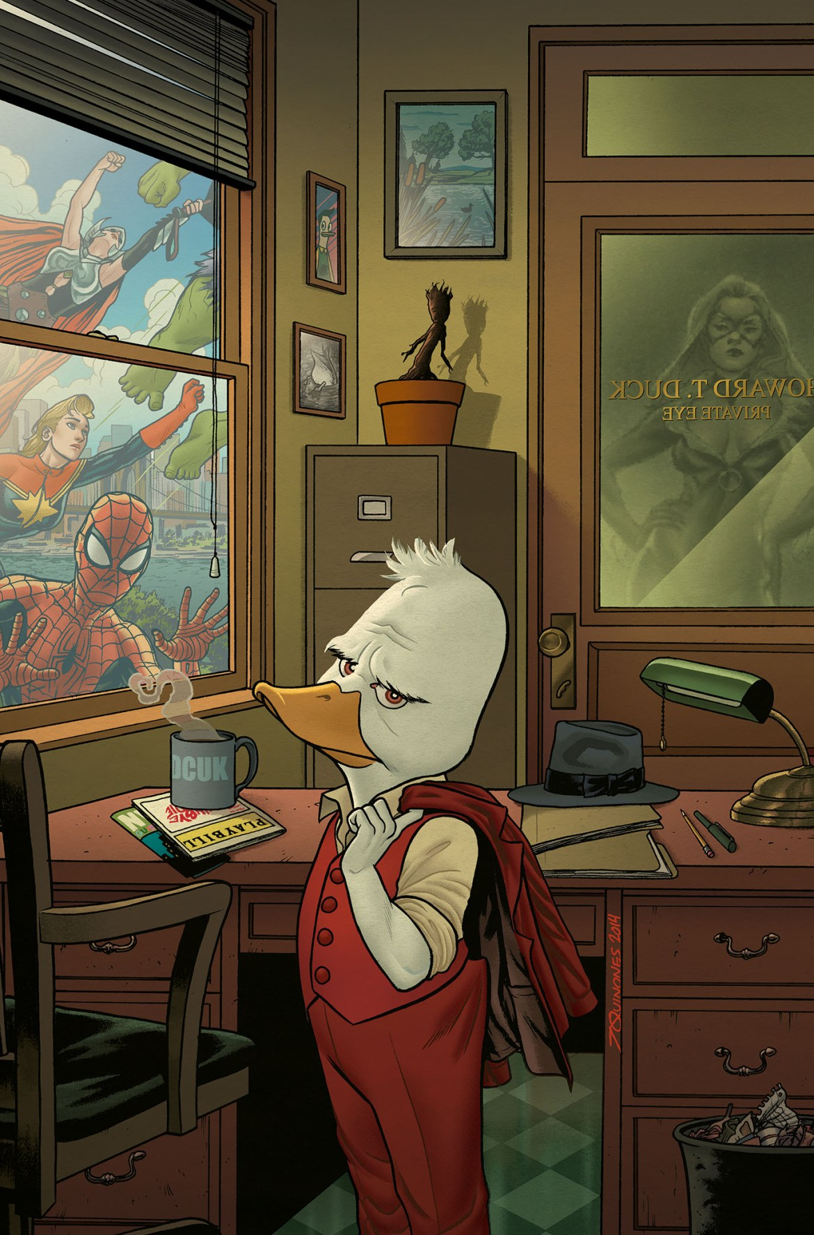 Howard_the_Duck_1_Cover New ongoing HOWARD THE DUCK series launching this March