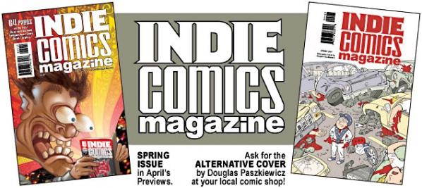 ICM5_mailing_list_header Maddalena Carrai's CREEPY GAGA comes to Indie Comics Magazine
