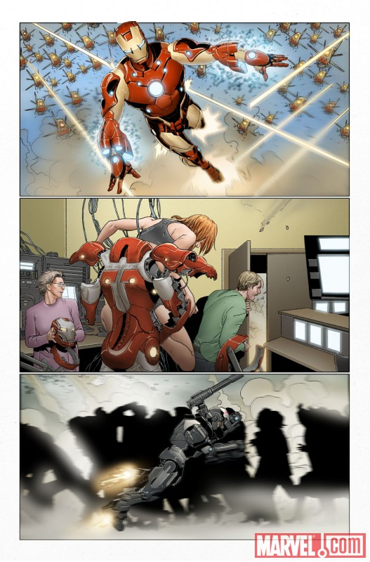 First Look At INVINCIBLE IRON MAN 32