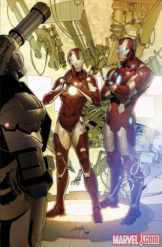INVIRONMAN_29_Cover First Look At INVINCIBLE IRON MAN #29