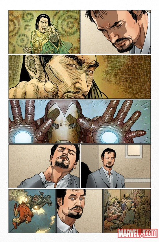 INVIRONMAN_500p1_Preview2 Marvel Point One soars with INVINCIBLE IRON MAN #500.1