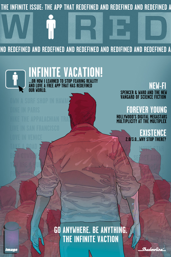 IV_WIRED2 THE INFINITE VACATION #1 Teaser One