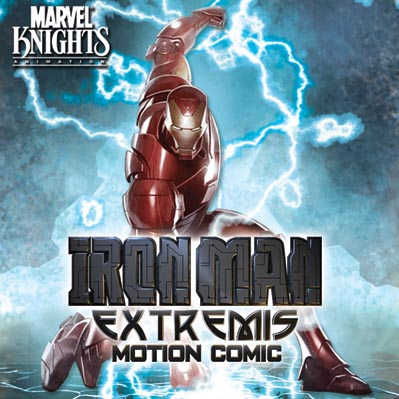 IronMan_Extremis_iTunesCover Iron Man: Extremis Motion Comic is a hit