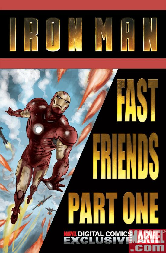 IronMan_FastFriends Exclusive Movie Tie-In Comic Series For Marvel Digital Comics Unlimited