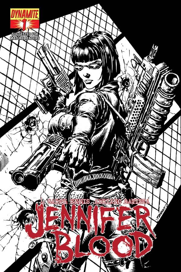 JenBlood01-Cov-Desjardins-BWIncen Early look at Garth Ennis' JENNIFER BLOOD #1