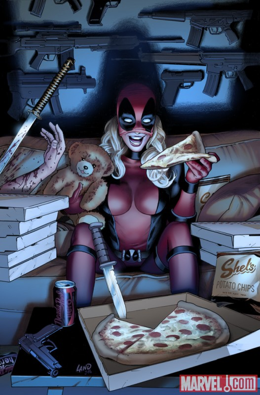 LADYDPOOL_1_Cover First Look At Lady Deadpool #1