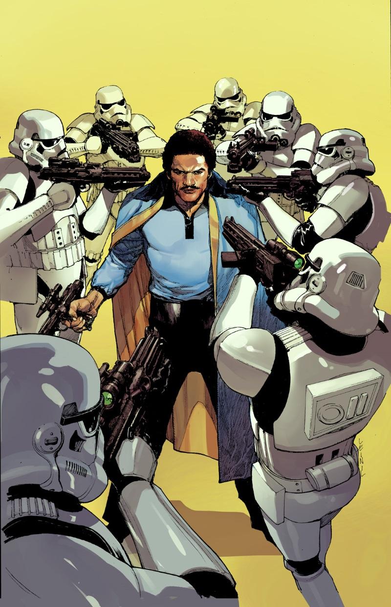 Lando_1_Yu_Variant LANDO CALRISSIAN #1 expands the Marvel STAR WARS universe