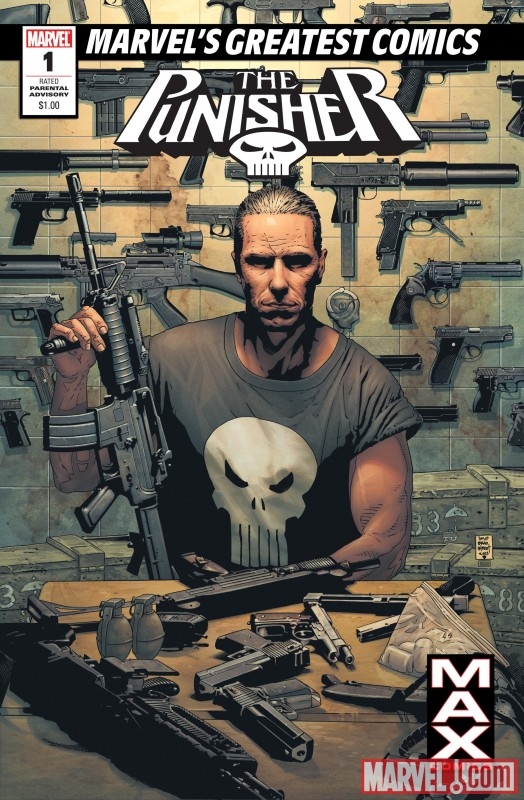 MGC_Punisher_Max_01 Marvel's Greatest Comics imprint to sell for $1.00 each