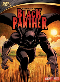 MKBLACKPANTHER_COVER MARVEL KNIGHTS ANIMATION: BLACK PANTHER arrives in stores today