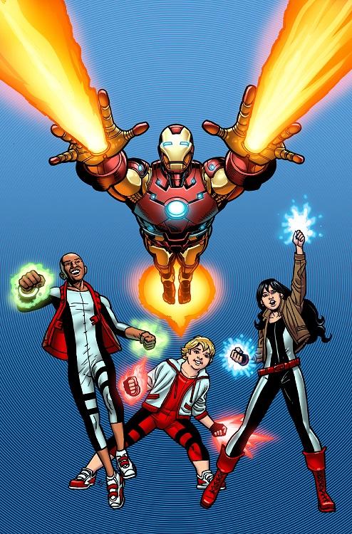 MarvelFloridaBlueWellPoint Marvel Custom Solutions and Iron Man make health fun