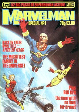 Marvelmanspecial Marvelman To Marvel: Isn't That Ironic