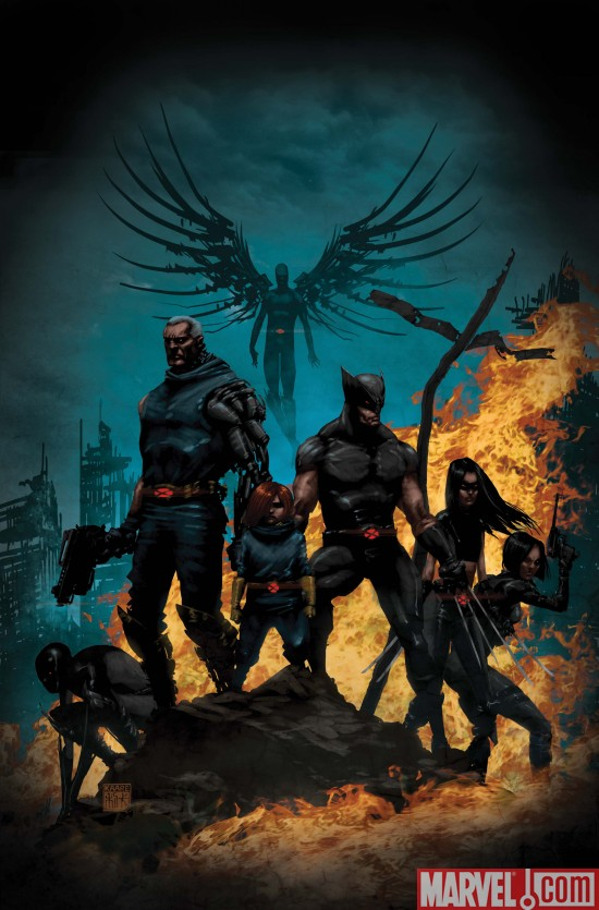 MessiahWar_Prologue_Cover_Andrews X-Force/Cable Messiah War Prologue Preview