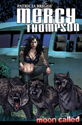 MoonCalled_cover400 IDW Publishing, Dabel Brothers to adapt Mercy Thompson: Moon Called