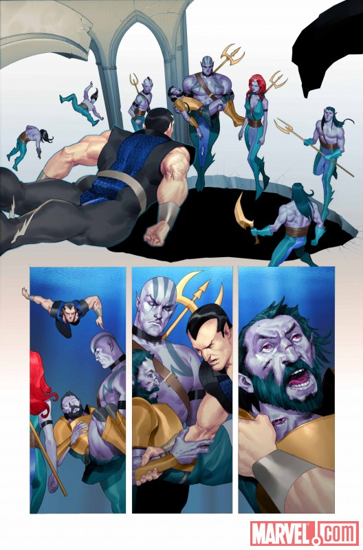 NAMORFM_1_Preview5 First Look At NAMOR: THE FIRST MUTANT #1