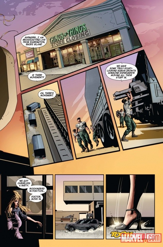 NEWAVENGERS_9_Preview2 First Look at NEW AVENGERS #9