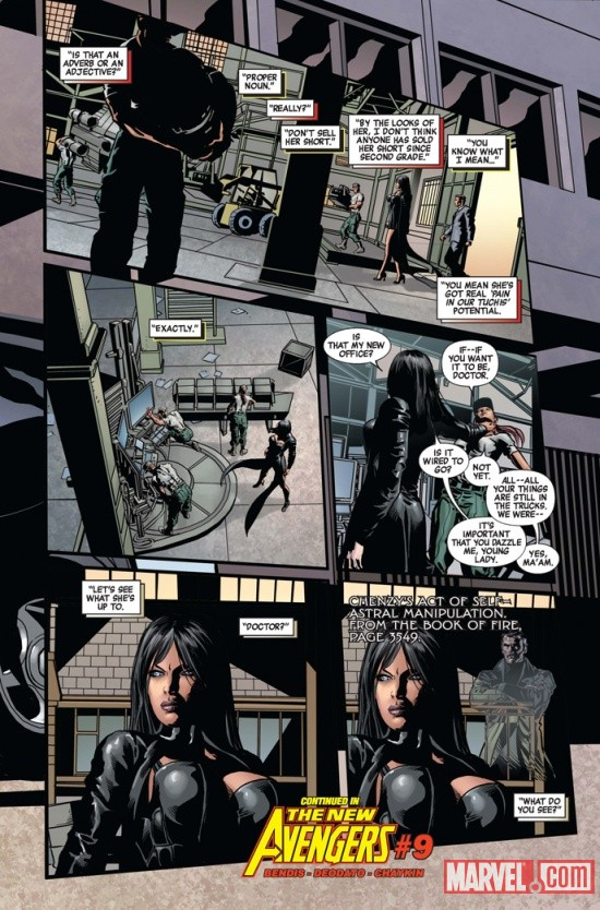 NEWAVENGERS_9_Preview4 First Look at NEW AVENGERS #9