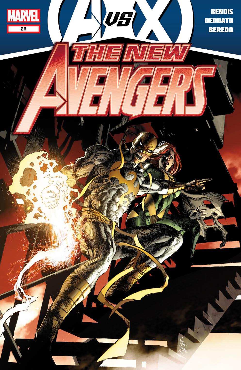 NewAvengers_26_Cover Marvel releases more May AVENGERS VS. X-MEN covers