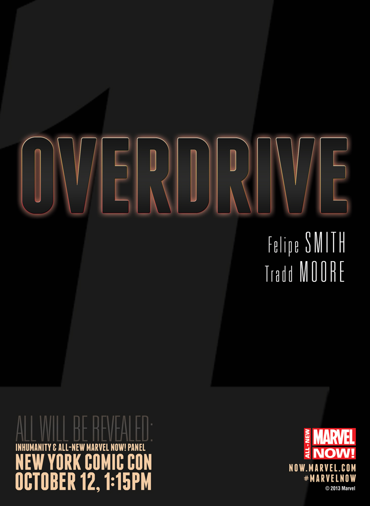 OVERDRIVE All-New Marvel NOW: Overdrive