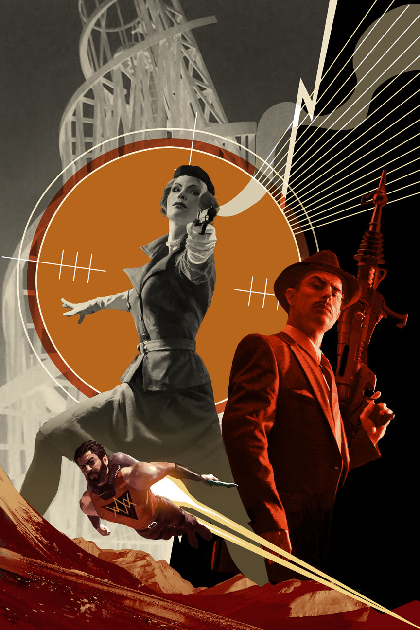 Operation_S.I.N._1_Cover Peggy Carter and Howard Stark battle Hydra in OPERATION S.I.N.
