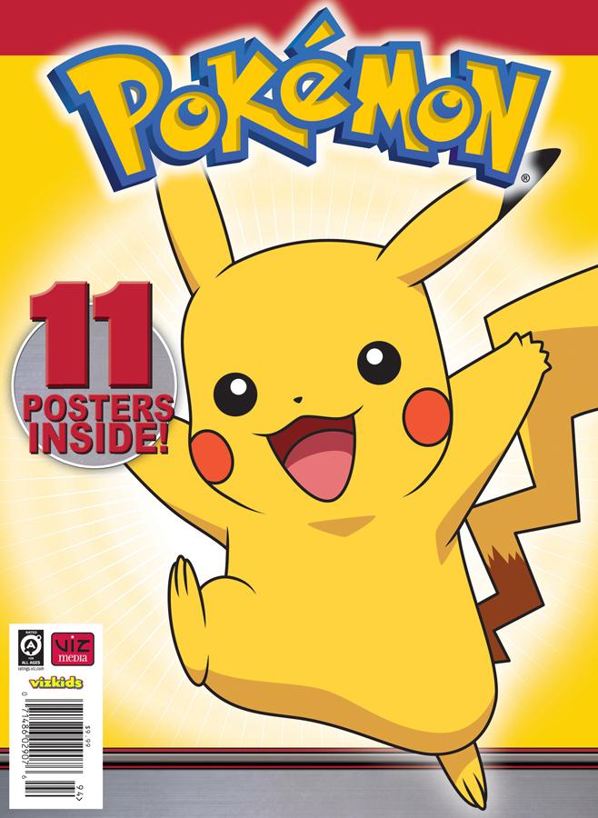 Pokemon_Posterzine_Cover_Platinum_FINAL_US VIZ Media Announces The Pokemon Poster Collection