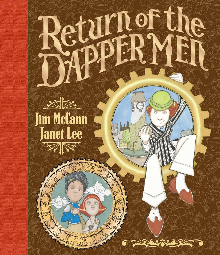 Return-of-the-Dapper-Men-HC-Final Archaia unveils final cover to 'RETURN OF THE DAPPER MEN'