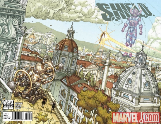 SHIELD1_3RD S.H.I.E.L.D. #1 goes back to press for a third time