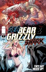 SeaBearGrizzlyShark01_cover_2ndPtg Image releases 2nd printing of SEA BEAR AND GRIZZLY SHARK