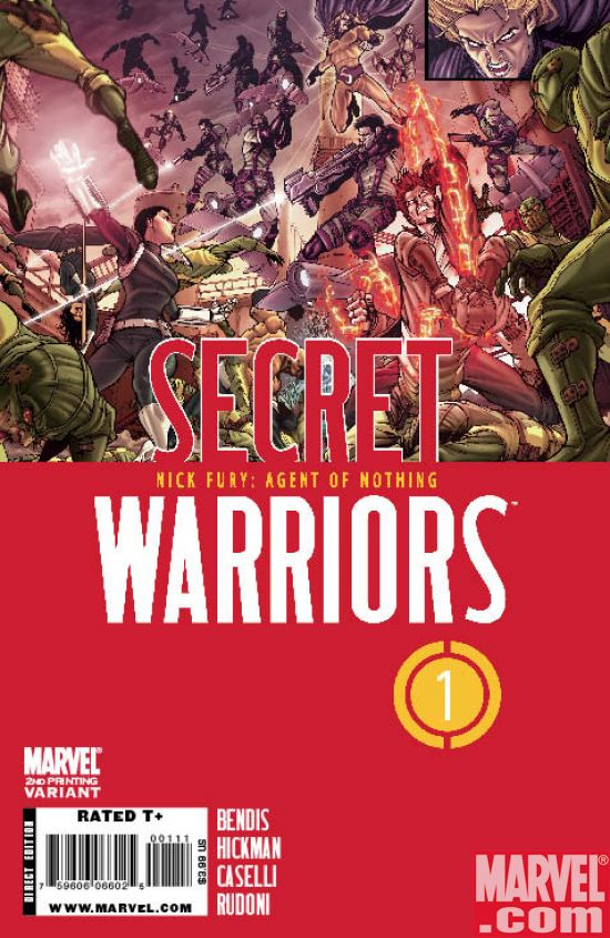 SecretWarriors_01_SecondPrintingVariant Nick Fury's SECRET WARRIORS Return To Comic Shelves