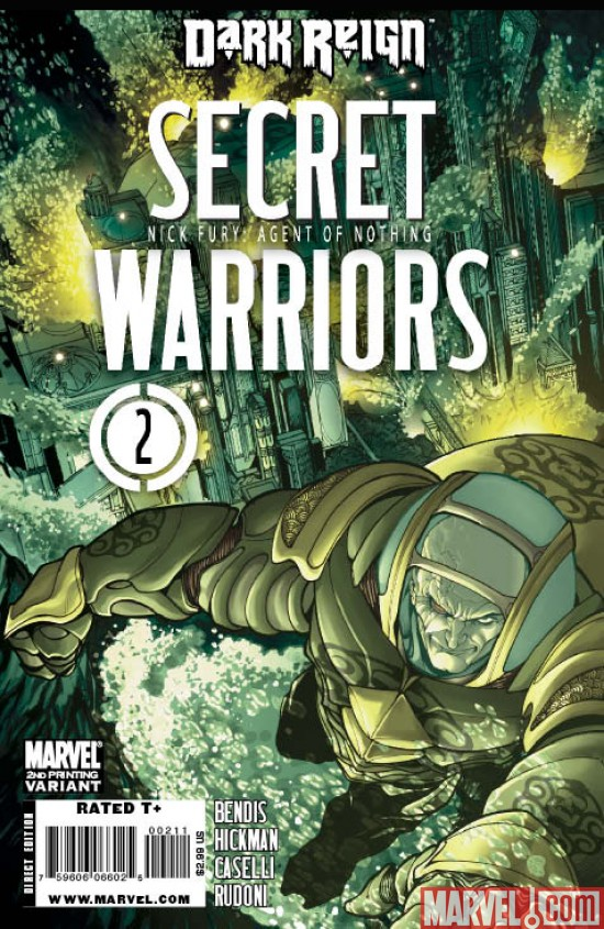 SecretWarriors_02_SecondPrinting Secret Warriors #2 Sells Out and Returns With a 2nd Printing