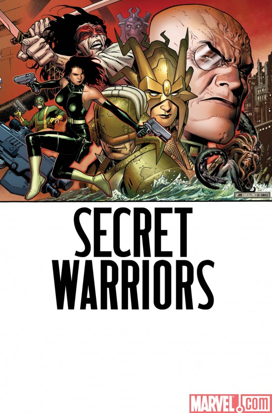 SecretWarriors_06_Cover Nick Fury and The Secret Warriors #6 Preview